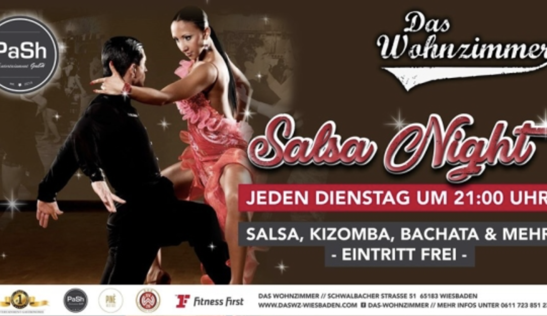 22:00 – 00:00 Salsa Tuesday