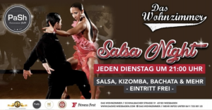 22:00 - 00:00 Salsa Tuesday