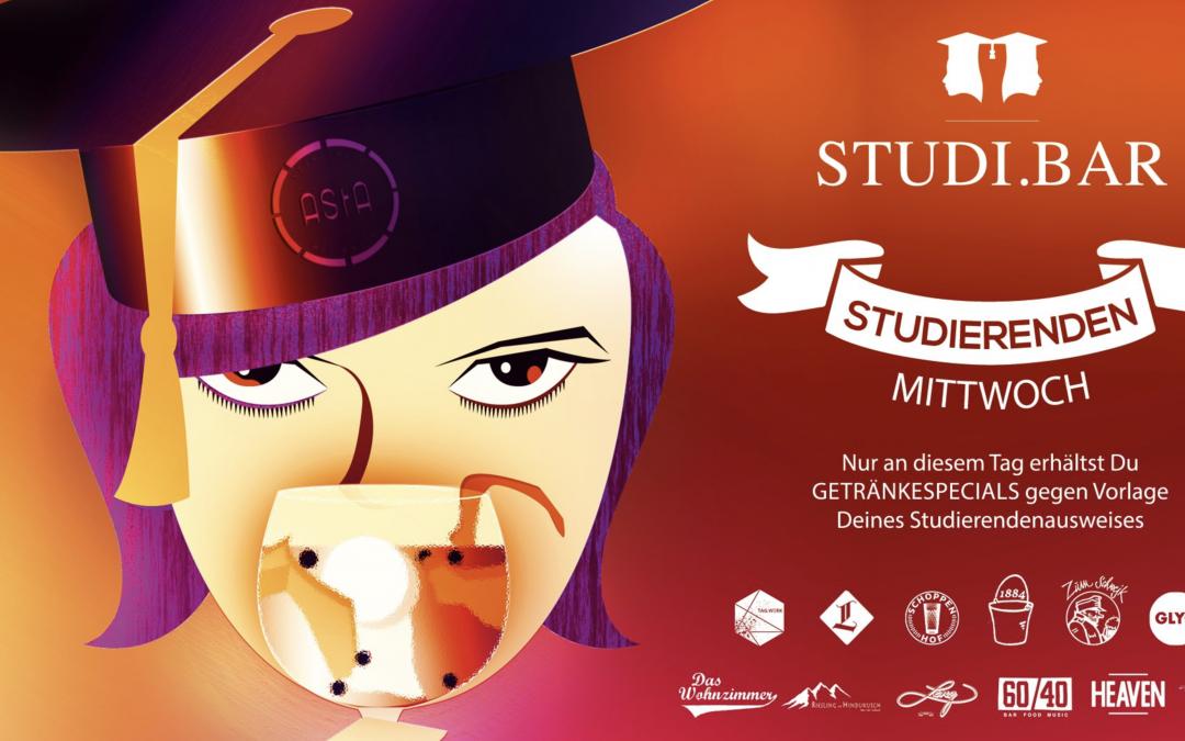 21:00 – 23:00 StudiBar